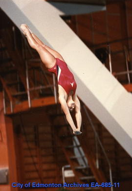 Universiade '83 - Female Diver