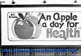 Sign - BC Apples