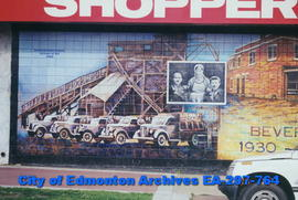 Mural of Beverly Coal Mine