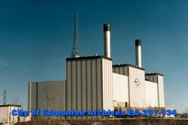 Edmonton Power Cloverbar plant - zoom