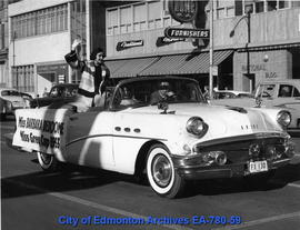 Miss Barbara Beddone, Miss Grey Cup 1955