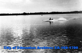 Boating at Elk Island Park