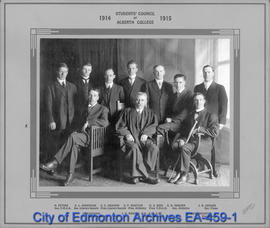 1914-1915 Students' Council of Alberta College