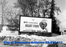 Sign - Heart Fund