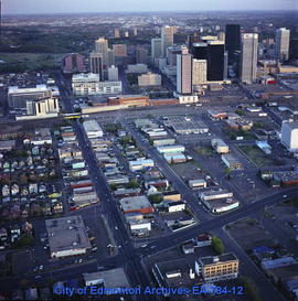Downtown Edmonton Aerial