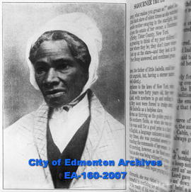 Sojourner Truth (1797-1883), American abolitionist and advocate of women's rights.