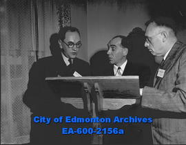 School for Edmonton Labour Union members. Course instructors, Professor A.S.R. Tweedie, Jack Hamp...
