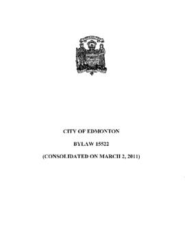 Bylaw 15522 - A Bylaw to Authorize the City of Edmonton to construct, and finance on a short-term...