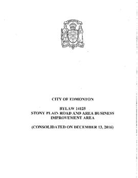 Bylaw 14125 - Stony Plain Road and Area Business Improvement Area