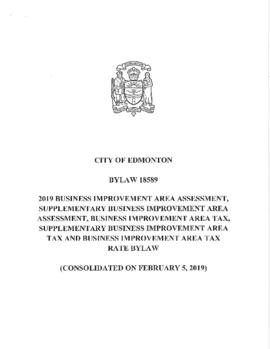 Bylaw 18589 - 2019 Business Improvement Area Assessment, Supplementary Business Improvement Area ...