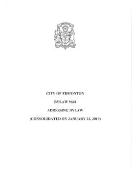Bylaw 9668 - Addressing Bylaw