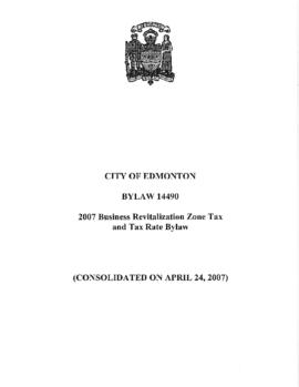 Bylaw 14490 - To establish the 2007 Business Revitalization Zone Tax Bylaw and Tax Rate Bylaw